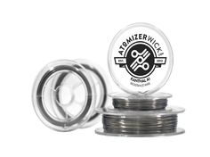 Atomizer Wick offers Kanthal A1 resistance wire (34g, 32g, 30g, 28g, 26g, 24g, 22g, and 20g). This high quality Kanthal A1 wire is a wonderful choice for rebuilding your atomizer.