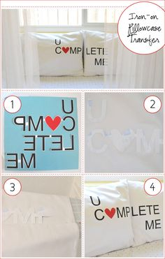 Valentine Freebie: Iron-on Pillowcase Transfers - Home - Creature Comforts - daily inspiration, style, diy projects + freebies