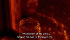 """The kingdom of the banal, singing praises to its emptiness."" - Konstantin Lopushansky's film, either in 1980s or 2000s."