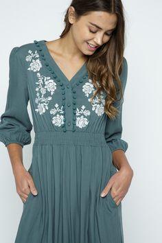 Modest Dresses, Cute Dresses, Cute Outfits, Summer Outfits, Cute Maxi Dress, Dress Up, Modest Fashion, Fashion Dresses, Feminine Style