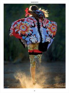 Eccentrically Ethnic Editorials - The Antidote Hans Feurer Image Series Embraces Cultural Fashions (GALLERY)