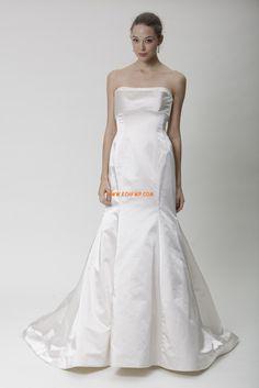 Frühling 2014 trägerloser Ausschnitt Reißverschluss Brautkleider 2014
