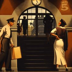 Kenton Nelson, Have Some Pity on an Easterner, Left