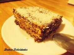 Dulces felicidades: Tarta de galletas y chocolate