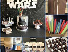 """Star Wars / Jedi Training Academy / Birthday """"Star Wars Party""""   Catch My Party"""