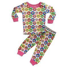 Amazon.com: Paul Frank - Infant Girls Short Sleeve Pajamas, Green, White 30539: Novelty Pajama Sets: Clothing