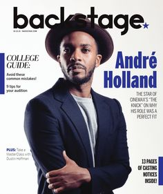 """Andre Holland talks about how his Southern upbringing and theater has helped him star in """"The Knick""""!"""