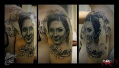 Lady portrait done by Biex