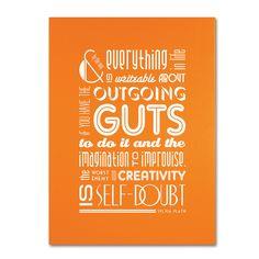 Megan Romo 'Outgoing Guts' Art