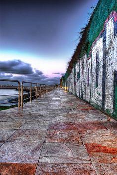 Paseo marítimo de Santa Cristina by Tavoado, via Flickr