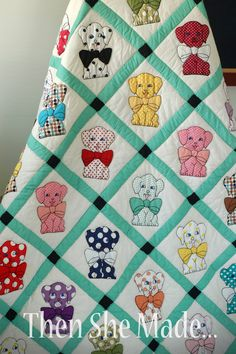 Then she made...: An American Quilt-  Lovely quilt, lovely story