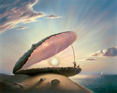 70 amazing paintings by the surrealist artist Vladimir Kush who also being called Russian Salvador Dali Vladimir Kush, Salvador Dali, Fantasy Kunst, Rene Magritte, Surrealism Painting, Painting Art, Jackson Pollock, Beautiful Drawings, Beautiful Pictures
