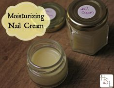 Help restore brittle nails and dry cuticles with this homemade and natural Moisturizing Nail Cream.