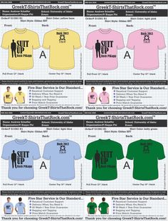 """COMFORT COLORS SALE! Use the *PROMO CODE: GTTR14* to get discounted Comfort Colors Pricing on your next order.  #gttr #greektshirts #greekt-shirts #greektshirtsthatrock """"Pin it to Win It"""" For Your Chapter in Fall 2014."""
