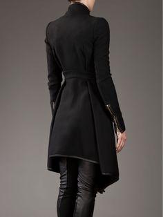 Visions of the Future: Black coat ~ Gareth Pugh