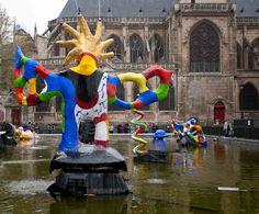 Niki de Saint Phalle fountain #Pompidou #Paris