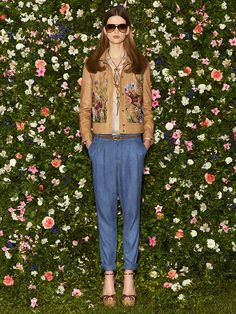 Embroidered Leather...!! Gucci Resort 2013
