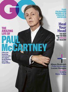 Gq Usa, Lucas Hedges, Maya Rudolph, Fred Armisen, Marianne Faithfull, Newspaper Printing, Sir Paul, Male Magazine, Living Legends