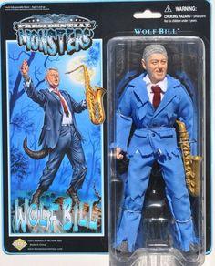 Monster President Action Figures | SFX