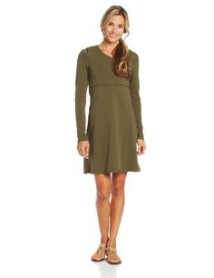 prAna Women's Alana Long Sleeve Dress