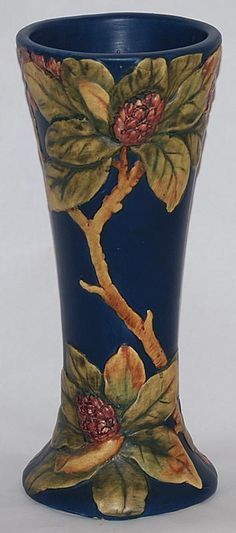 Weller Pottery Flemish Tall Vase from Just Art Pottery