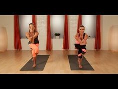 Love that Anna is open to imperfection in her Yoga or any other exercise practice. She shows how one side is easier than another, and how Power Yoga is difficult, but rewarding when your body adjusts within the routine!  Stretch and Strengthen With Yoga   Full-Body Workout   POPSUGAR Fitness