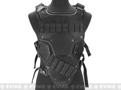 Matrix TF3 High Speed Body Armor - Black, Tactical Gear/Apparel, Body Armor & Vests, Black - Evike.com Airsoft Superstore