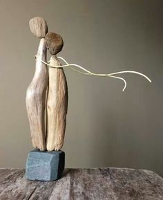 Pam Joy driftwood art