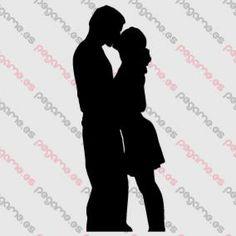 Pegame.es Online Decals Shop  #couple #love #kiss #vinyl #sticker #pegatina #vinilo #stencil #decal