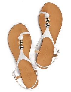 ce8818e3097 Vicini Patent leather Ganges Sandals