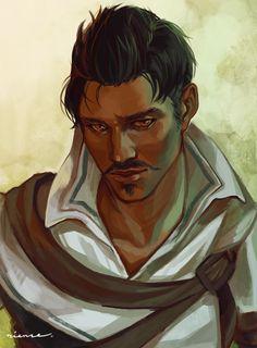 Dorian immer der beste Freund vom Inquisitor wenn ich spiele.