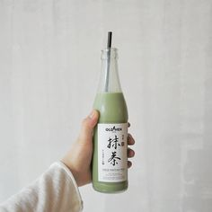 Shared by angel. Find images and videos about food, aesthetic and green on We Heart It - the app to get lost in what you love. Mint Green Aesthetic, Aesthetic Colors, Aesthetic Food, Aesthetic Photo, Aesthetic Pictures, Aesthetic Light, White Aesthetic, Matcha Milk, Eat This