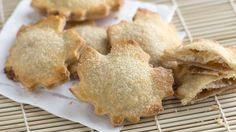 Bloggers Adam and Joanne Gallagher from Inspired Taste fill leaf-shaped crusts with apple butter for apple hand pies.