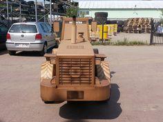 Cardboard Komatsu WA500
