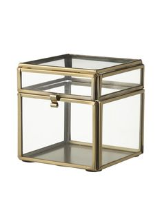 metal box x 9 x cm - 60120199 - hema Decorative Storage Boxes, Metal Box, Display Case, Interior Accessories, Crate And Barrel, Home And Living, Crates, Table, Furniture