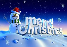 Merry Christmas and Happy New Year Wallpaper.
