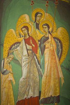 Grigore Popescu - Pictura murala, icoane, pictura sevalet, restaurare Like Icon, Orthodox Icons, Byzantine, Ikon, Christian, Paintings, Byzantine Art, Paint, Painting Art