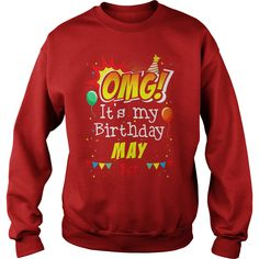 OMG It's My Birthday May 1st T-shirt Taurus Pride #gift #ideas #Popular #Everything #Videos #Shop #Animals #pets #Architecture #Art #Cars #motorcycles #Celebrities #DIY #crafts #Design #Education #Entertainment #Food #drink #Gardening #Geek #Hair #beauty #Health #fitness #History #Holidays #events #Home decor #Humor #Illustrations #posters #Kids #parenting #Men #Outdoors #Photography #Products #Quotes #Science #nature #Sports #Tattoos #Technology #Travel #Weddings #Women