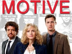 motive tv show  I like all of the characters in this show and the premise is very interesting.