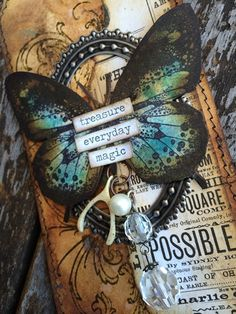 Good Afternoon! Karen here again today, sharing with you another of my tags made for my tag journal. Yes it's true i am a little addicted to creating on tags! (as well as the little chitchat…