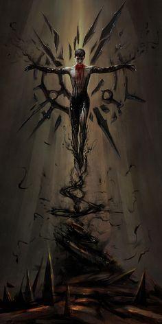 ArtStation - Birth of a God , Sigilia En