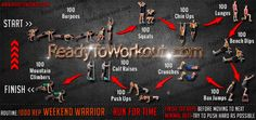 1000 Rep Weekend Warrior Workout Routine - Ready To Workout Couples Workout Routine, Bodyweight Workout Routine, Calisthenics Workout, Ligament Tear, Torn Ligament, Run For Time, Warrior Workout, Calf Raises, Body Weight Training