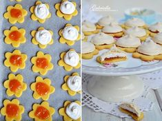 Gabriella kalandjai a konyhában :): Habcsókos linzer Creative Cakes, Cake Recipes, Panna Cotta, Breakfast, Ethnic Recipes, Sweet, Food, Diet, Morning Coffee