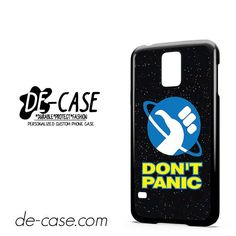Hitchhikers Guide To The Galaxy Dont Panic DEAL-5295 Samsung Phonecase Cover For Samsung Galaxy S5 / S5 Mini