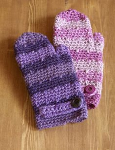 Spray of Color Rose Mittens