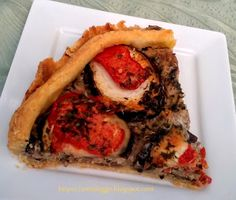 Tortafüggő Marisz: Padlizsános húsos pite Cheesesteak, Quiche, Pizza, Ethnic Recipes, Quiches