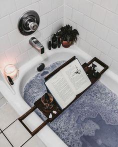 Uye Surana Lingerie — lavender bath, candles, & a good read