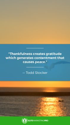 Gratitude makes things great! http://elitemarketingpro.com/go/amf?utm_campaign=coschedule&utm_source=pinterest&utm_medium=Elite%20Marketing%20Pro