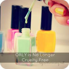 ORLY has started selling through a distributor in China and may no longer be cruelty free. Read more on Logical Harmony to find out the details!