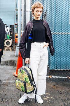 エディ・キャンベル,人気モデル7名の私服をチェック,おしゃれスナップ,SNAP